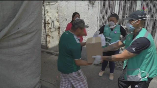 Foto: Entregan kits de apoyo a casos sospechosos por coronavirus en CDMX 2 Abril 2020