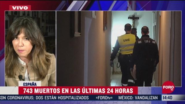 FOTO: espana lleva casi 14 mil muertos por coronavirus
