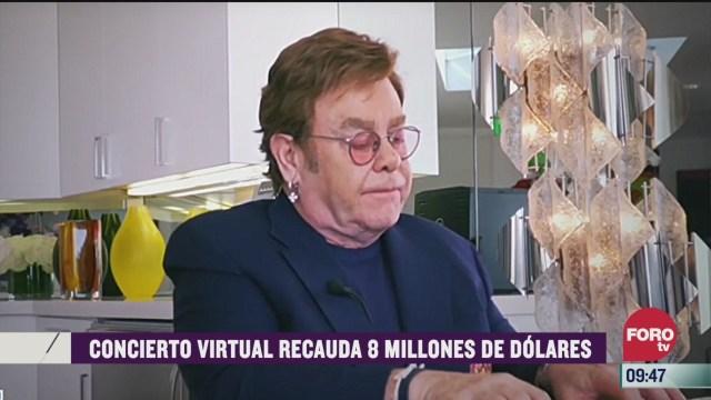 espectaculosenexpreso concierto virtual recauda 8 millones de dolares
