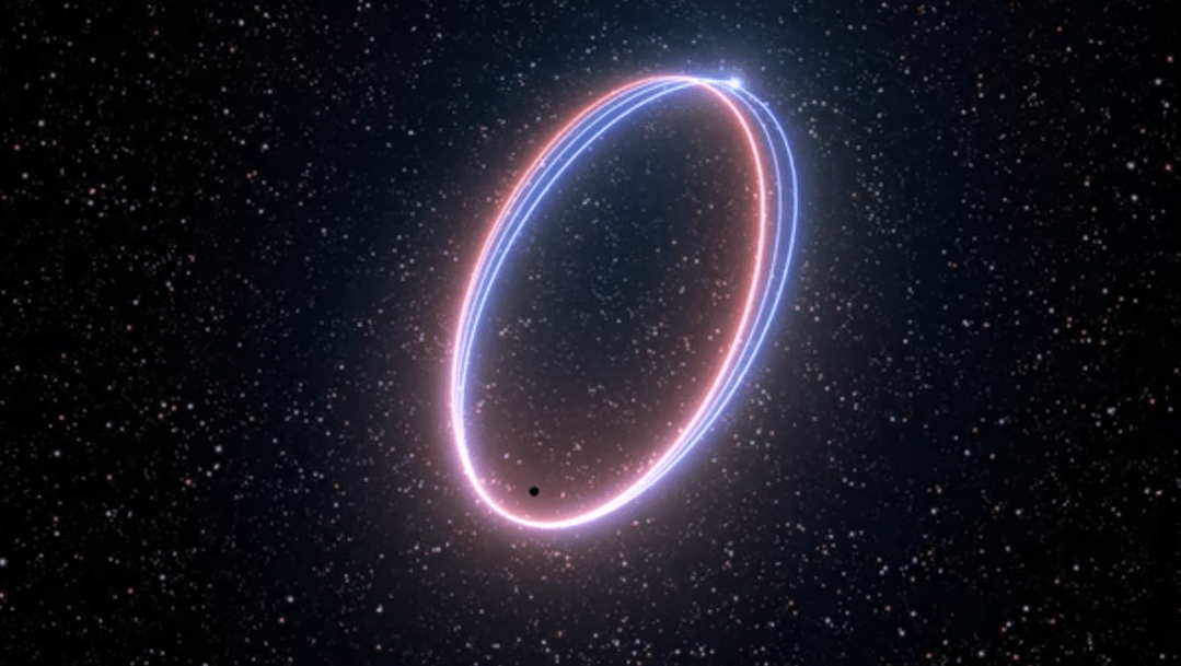Foto Estrella Agujero Negro 16 Abril 2020