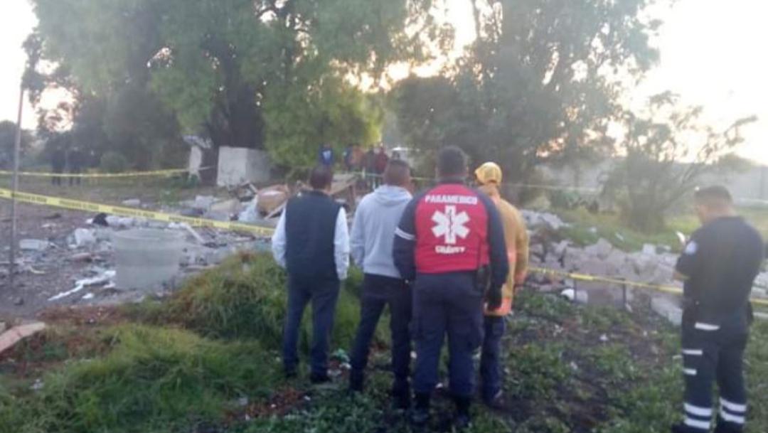 Foto: Explosión de polvorín en el municipio de Tultepec, Estados de México, 18 abril 2020