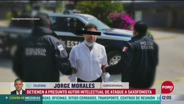 Detienen a exdiputado implicado en ataque con ácido a la saxofonista María Elena Ríos