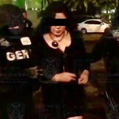 Detienen a 'Cecy Albarrán', supuesta líder del CJNG en la CDMX