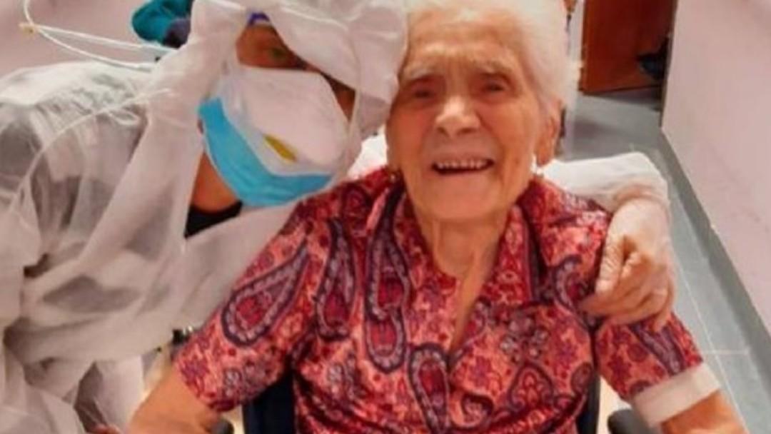 Ada Zanusso, una mujer italiana de 104 años, venció al coronavirus