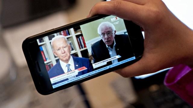 Foto: Joe Biden y Bernie Sanders. Getty Images