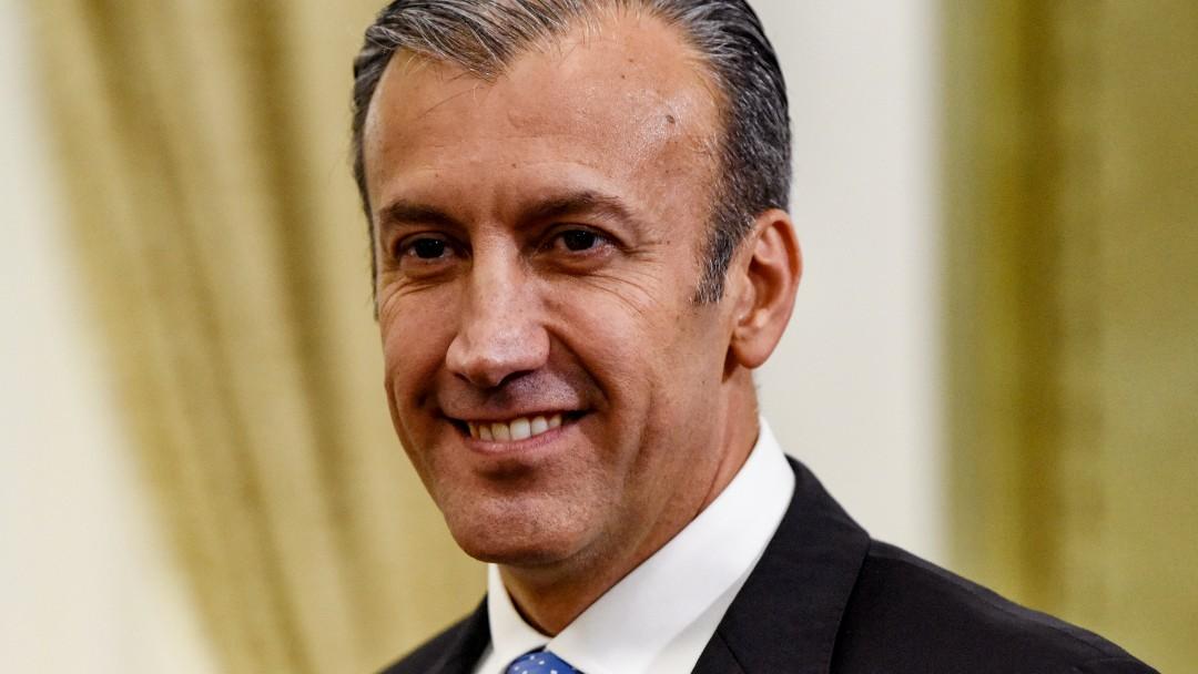 Foto: Tareck El Aissami, ministro de Petróleo de Venezuela. Getty Images