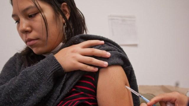 Foto: Vacuna contra el sarampión. Cuartoscuro