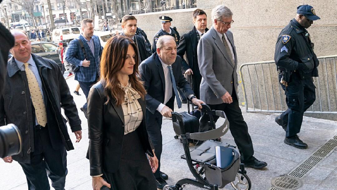 Foto: Harvey Weinstein enfrentará un cargo más por delitos sexuales, 10 de abril de 2020, (Getty Images, archivo)