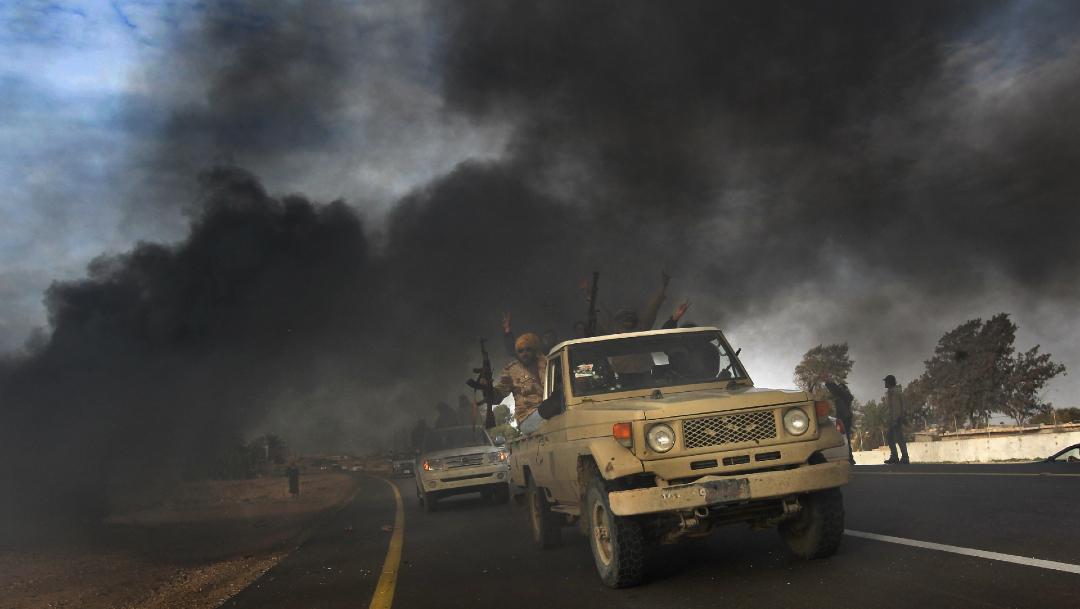 FOTO: La UE llama a un alto el fuego en Libia para luchar contra la violencia, el 25 de abril de 2020