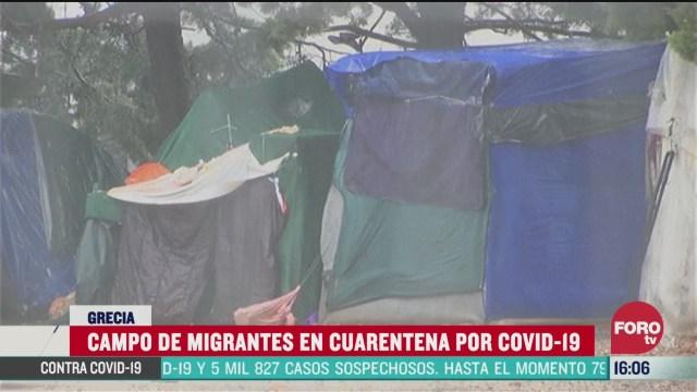 FOTO: 5 de abril 2020, habitante de campo de migrantes en grecia dan positivo a coronavirus
