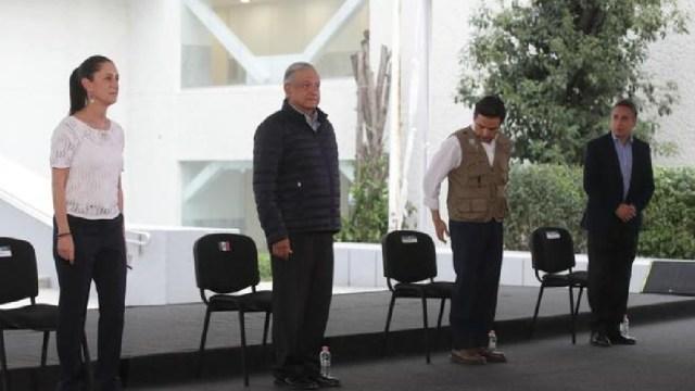Foto: Falta de médicos ante coronavirus, parte del daño de política neoliberal, dice AMLO, 3 de abril de 2020, (Presidencia)