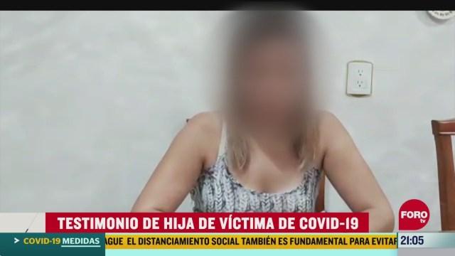 Foto: Coronavirus Hija Narra Papá Sufrió Síntomas Covid-198 Abril 2020