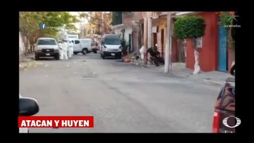 Foto: Funeraria Temixco Morelos Hombres Armados Muertos 17 Abril 2020
