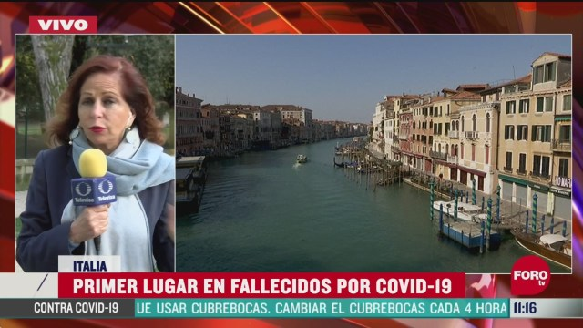 italia primer lugar en fallecidos por coronavirus