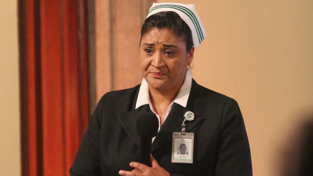 Coronavirus: Jefa de enfermeras IMSS pide parar agresiones