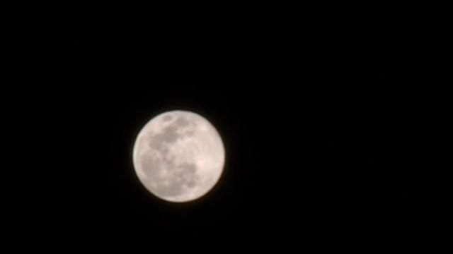 FOTO: 'Luna Rosa' se aprecia en la CDMX, el 8 de abril de 2020