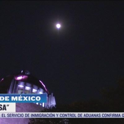 'Luna Rosa' se aprecia en la CDMX