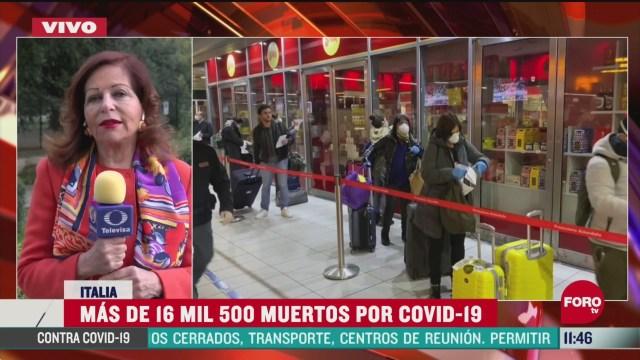 mas de 16 mil 500 muertos por coronavirus en italia