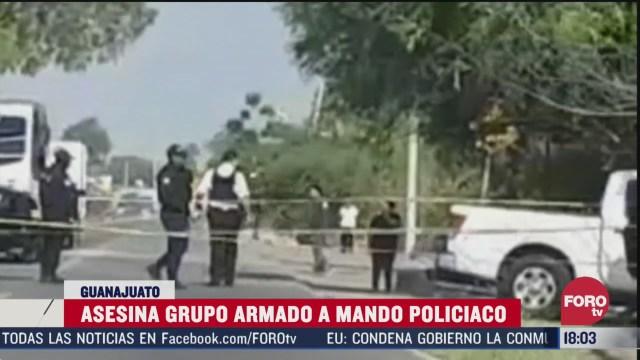 FOTO: matan a comandante de la policia de jaral del progreso