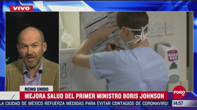 FOTO: mejora salud de boris johnson enfermo de coronavirus