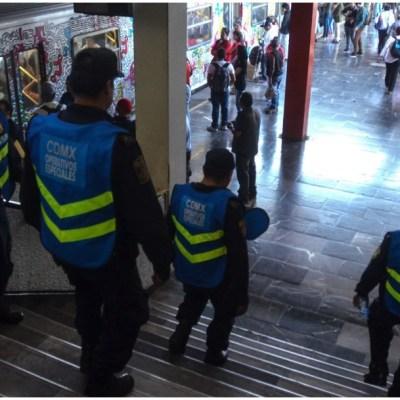 Imagen: Una mujer murió tras arrojarse a las vías del Metro en Chabacano, 5 de abril de 2020 (ARMANDO MONROY /CUARTOSCURO.COM)