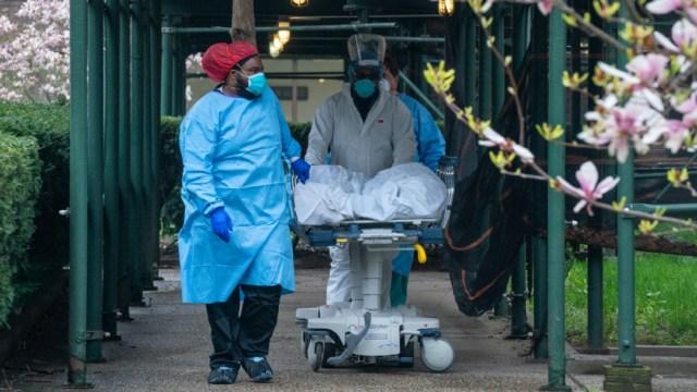 Nueva York, el epicentro actual de la pandemia, suma más de 7,000 personas muertas. (Foto: Getty Images)