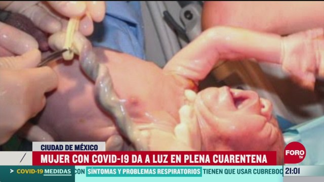 Foto: Mujer Coronavirus Luz Plena Cuarentena 8 Abril 2020