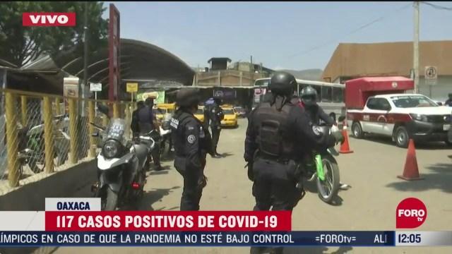 oaxaca registra 117 casos positivos de coronavirus