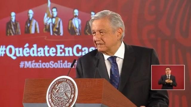 Foto: El presidente Andrés Manuel López Obrador
