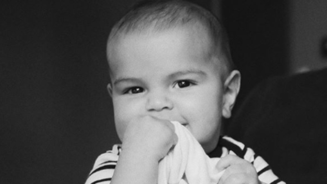 Foto: Ricky Martin presume a Renn, el más pequeño de sus hijos