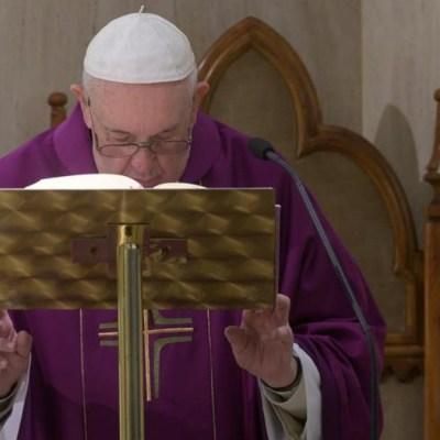 Coronavirus: Papa dona 750 mil dólares a fondo de emergencia
