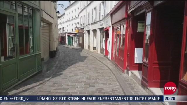 Foto: paris luce calles vacias por coronavirus 28 Abril 2020