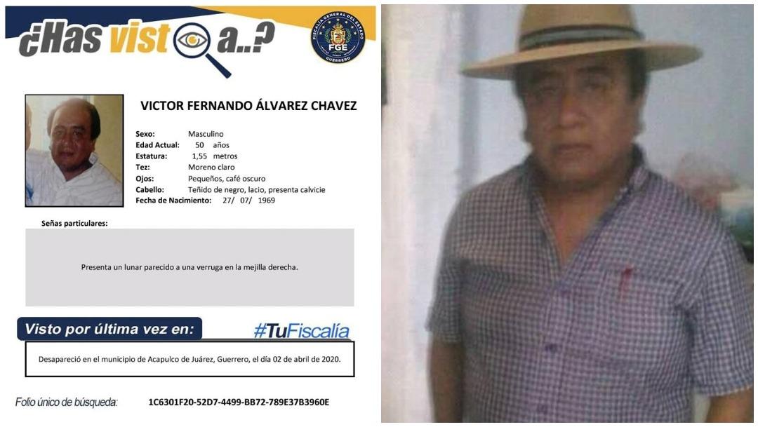 Imagen: Hallan sin vida al periodista Victor Fernando Álvarez Chavez, 11 de abril de 2020 (Facebook)