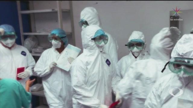 Foto: Coronavirus Médicos Hospital Juárez Esperan Pacientes Covid-19 7 Abril 2020