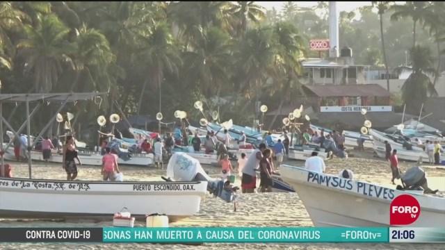 Foto: Coronavirus Pescadores Oaxaca No Pueden Suspender Actividades 7 Abril 2020