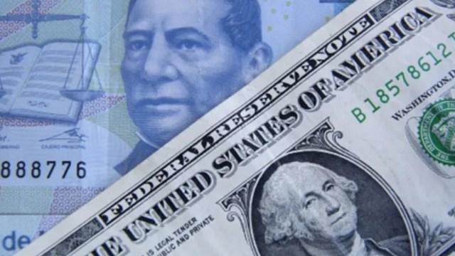 Foto: Peso gana 11 centavos y se negocia en $23.59 por dólar
