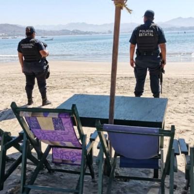 Cierran playas y balnearios en Colima por coronavirus, hasta nuevo aviso