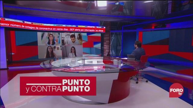 Foto: Punto Contrapunto Genaro Lozano Programa Completo 1 Abril 2020