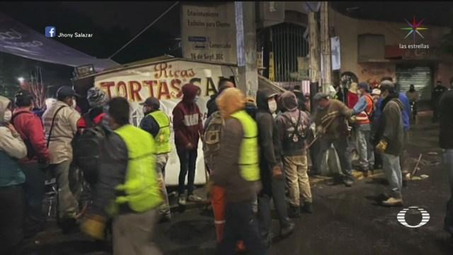 Foto: Operativo En Edomex Para Cerrar Negocios No Esenciales Y Ambulantes 22 Abril 2020