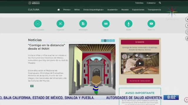 recorrido virtual de museos durante contingencia por coronavirus