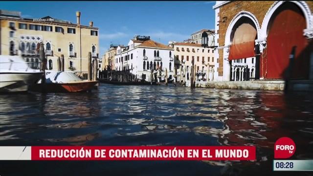 reduccion de contaminacion en el mundo