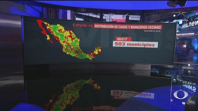 Foto: Coronavirus Municipios Sin Casos Contagios Covid19 México 17 Abril 2020