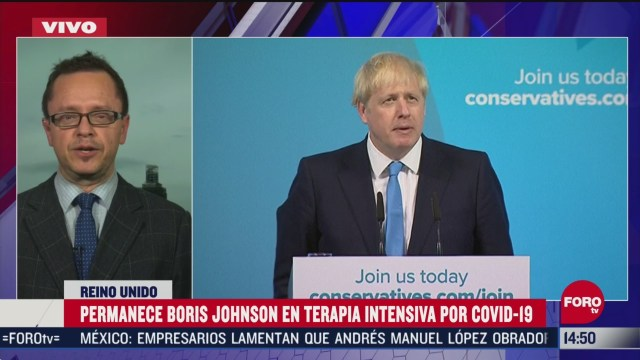 FOTO: reportan estable a boris johnson tras coronavirus