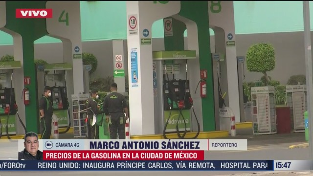 FOTO: se mantienen precios bajos de gasolina en cdmx