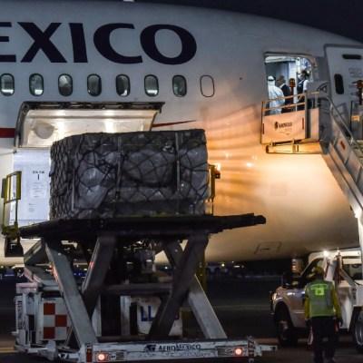 Llega a México segundo avión con insumos médicos para contingencia por coronavirus