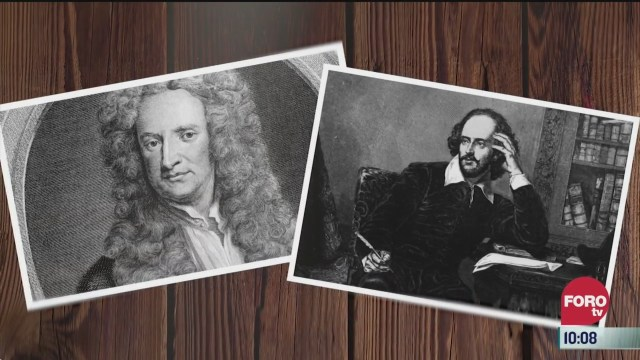 shakespeare y newton en cuatentena