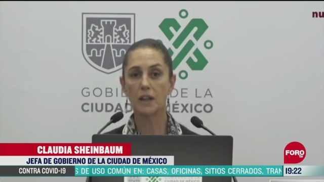 Foto: Coronavirus Cdmx Sheinbaum Analiza Penalizar Empresas Despidos 8 Abril 2020