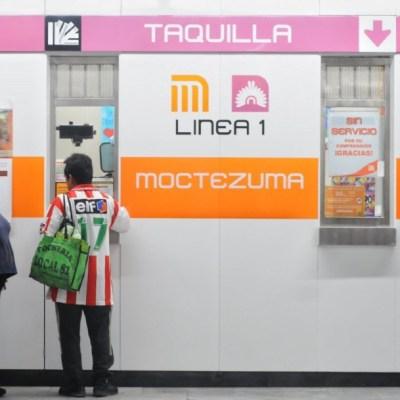 Dejará de operar tercer turno de taquillas del Metro CDMX ante coronavirus. (Foto: Cuartoscuro)