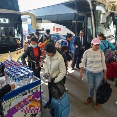 Coronavirus: Medidas sanitarias en terminales de autobuses