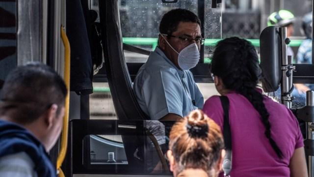 Coronavirus: Cubrebocas, obligatorio en transporte público